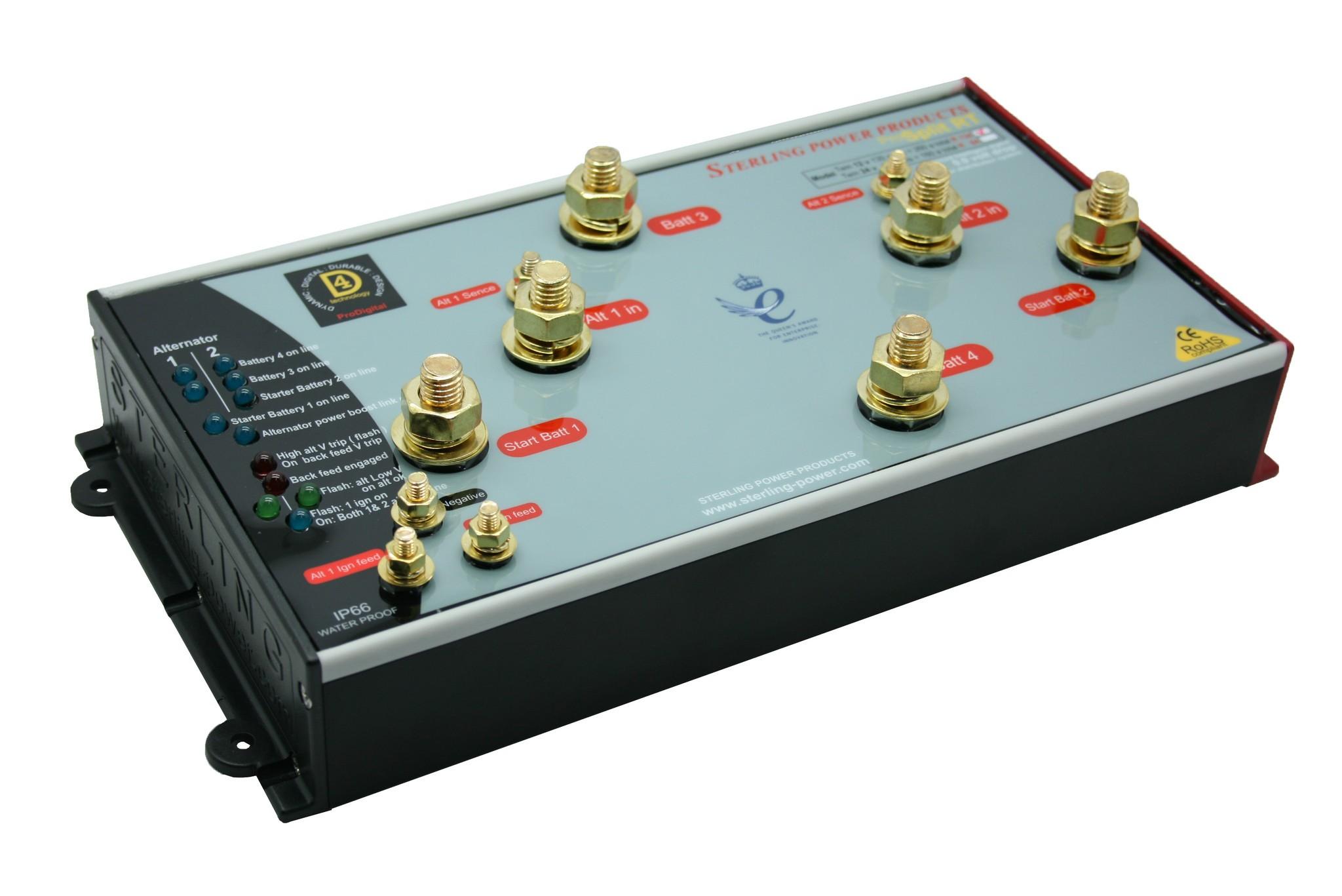 508.86 - Διαχωριστής Φόρτισης Pro Split R Για Έως 2 Κινητήρες & 4 Μπαταρίες