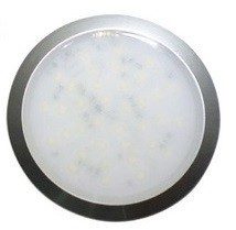 56.63 - Δίχρωμη Πλαφονιέρα LED Αδιάβροχη 129mm