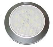 28.49 - Δίχρωμη Πλαφονιέρα LED Αδιάβροχη 69mm
