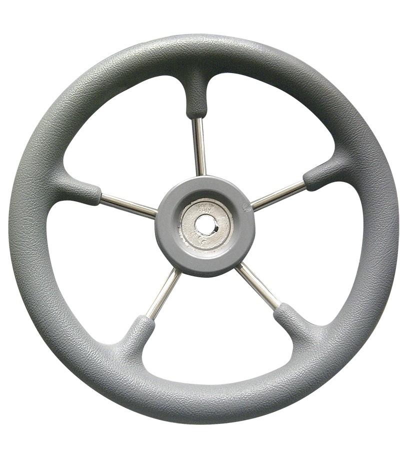 57.57 - Τιμόνι Ακτινωτό Χρώμα Γκρι Ø320mm