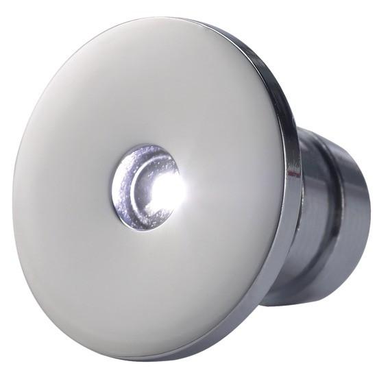 17.17 - Πλαφονιέρα Mini Χωνευτή Με Φωτισμό LED Χρώματος Μπλε