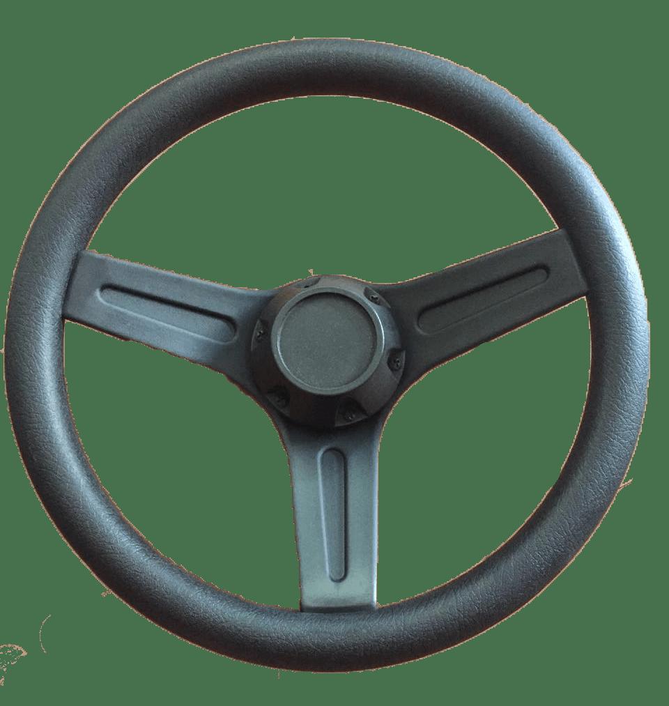 23.42 - Τιμόνι Με Θερμοπλαστική Επένδυση Χρώμα Μαύρο Ø320mm