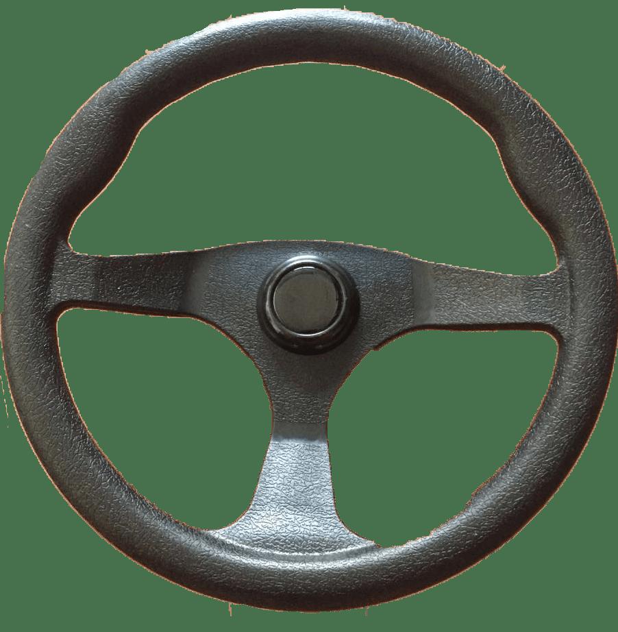 33.76 - Τιμόνι Με Θερμοπλαστική Επένδυση Χρώμα Μαύρο Ø330mm