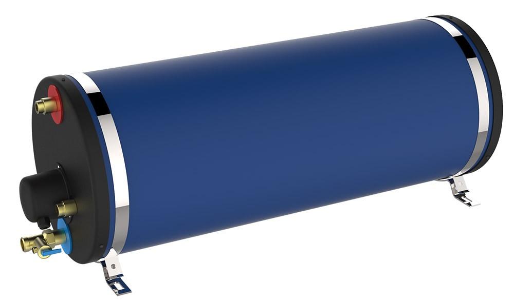 556.97 - Ναυτικός Θερμοσίφωνας Κυλινδρικός 45L 1200W Αλουμίνιο