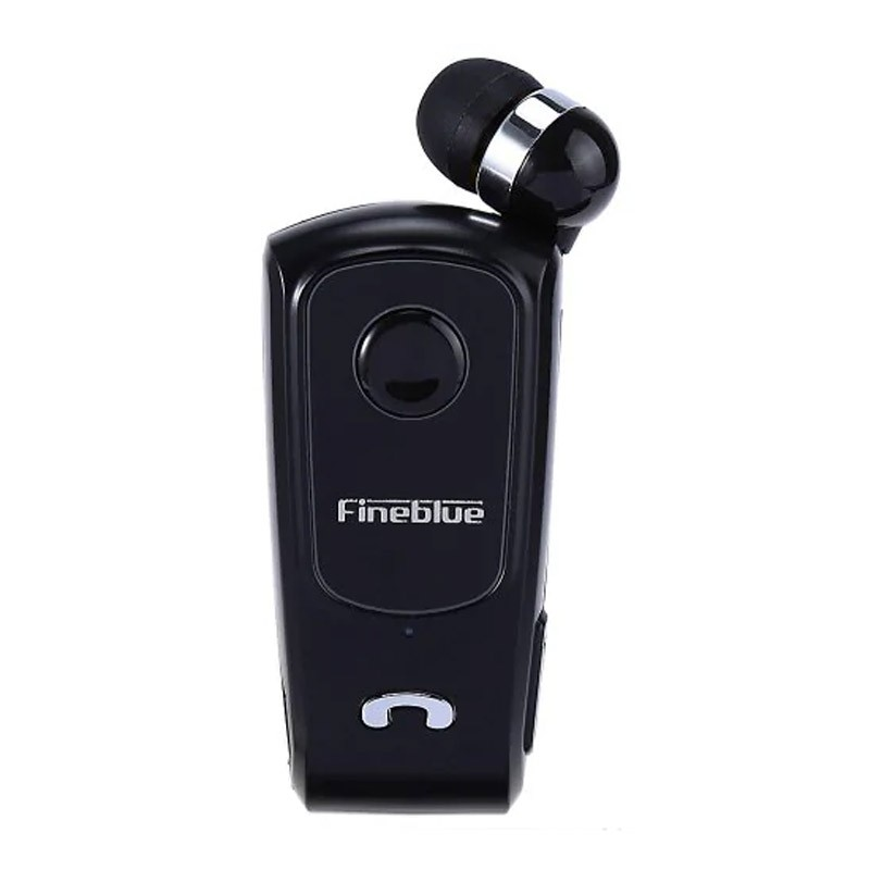 29.9 - Ακουστικό Hands-Free με Σύνδεση Bluetooth Χρώματος Μαύρο FineBlue