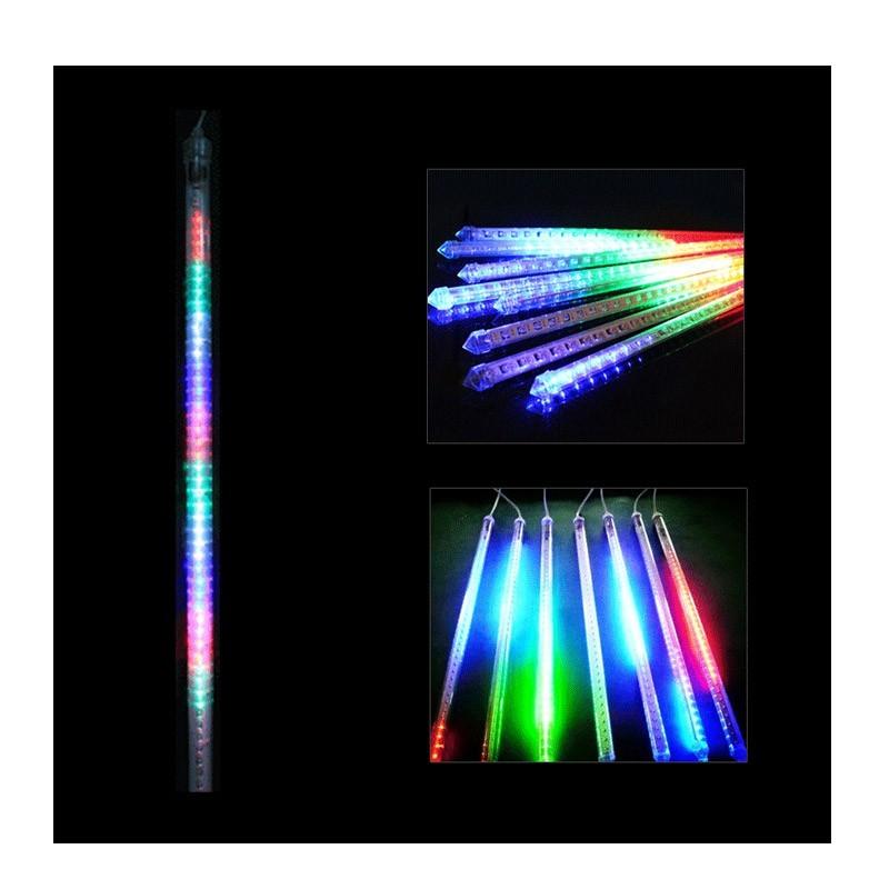 Διακοσμητικός Φωτισμός LED Μπλε Κόκκινη Πράσινη  Βροχή SMD Led Shower OEM