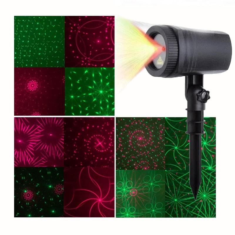 Χριστουγεννιάτικος Προβολέας Laser 2 Χρωμάτων OEM