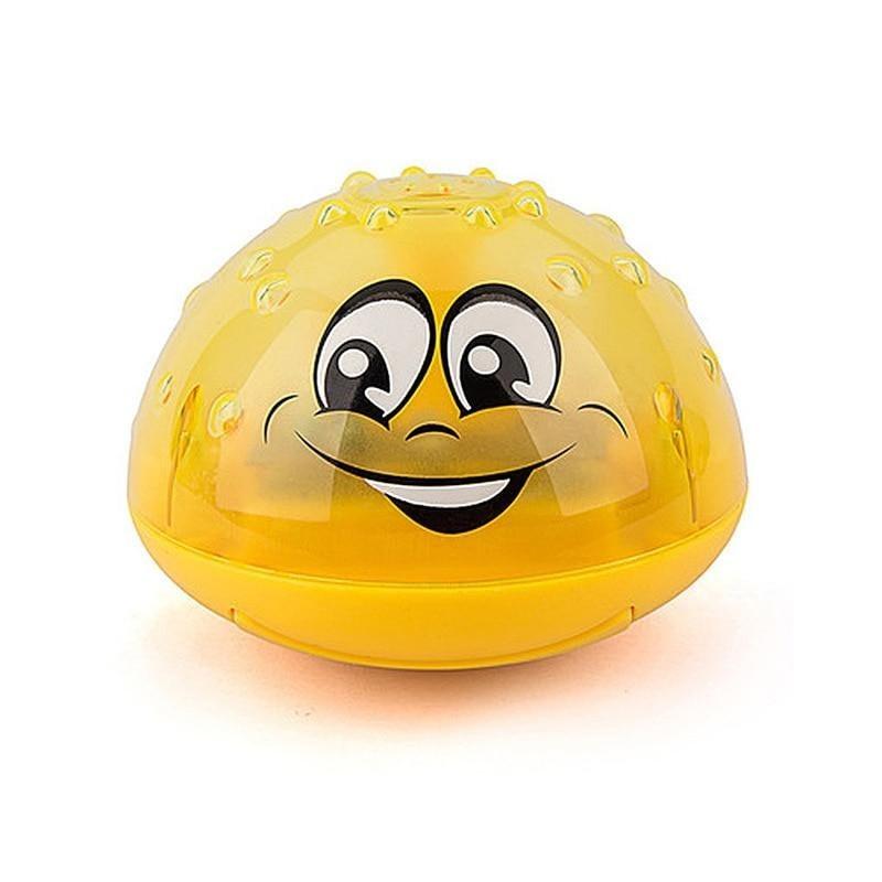 Παιδικό Παιχνίδι Συντριβάνι για το Μπάνιο Χρώματος Κίτρινο