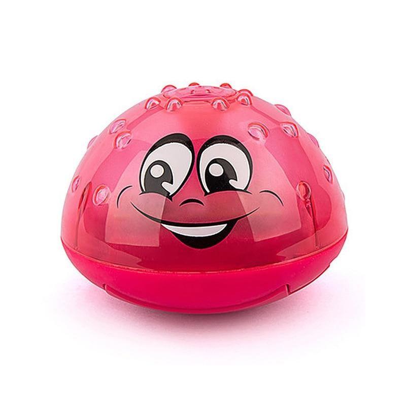 Παιδικό Παιχνίδι Συντριβάνι για το Μπάνιο Χρώματος Κόκκινο