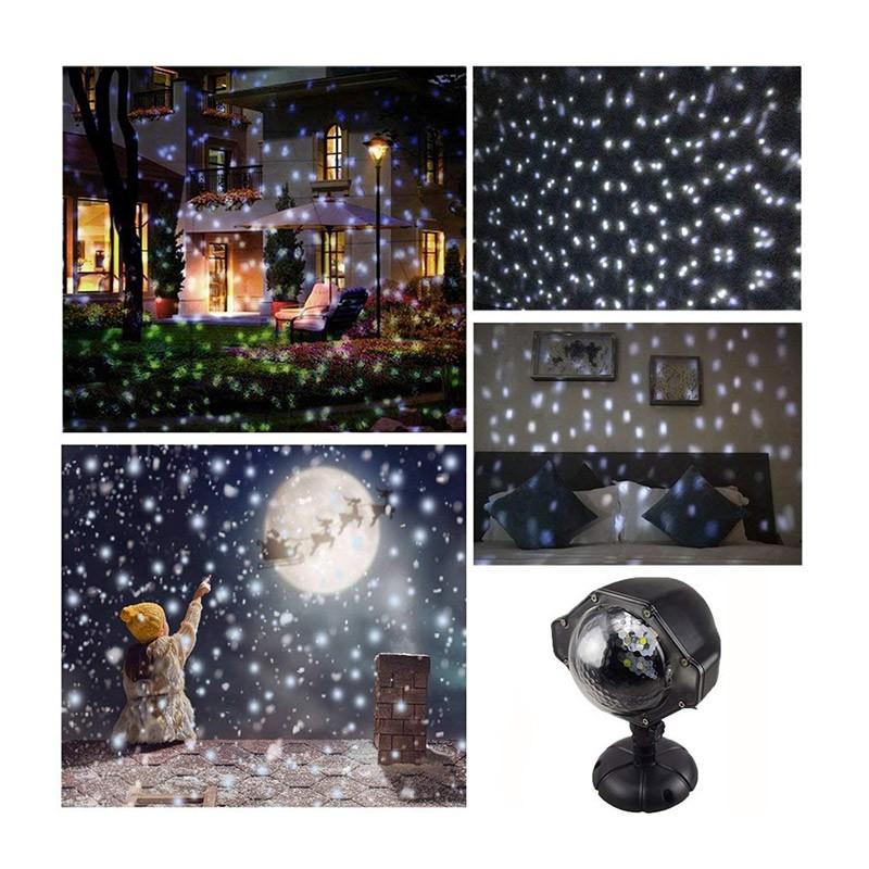 Προβολέας Led Χιονόπτωσης,Νυχτερινού Διακοσμητικού Φωτισμού OEM