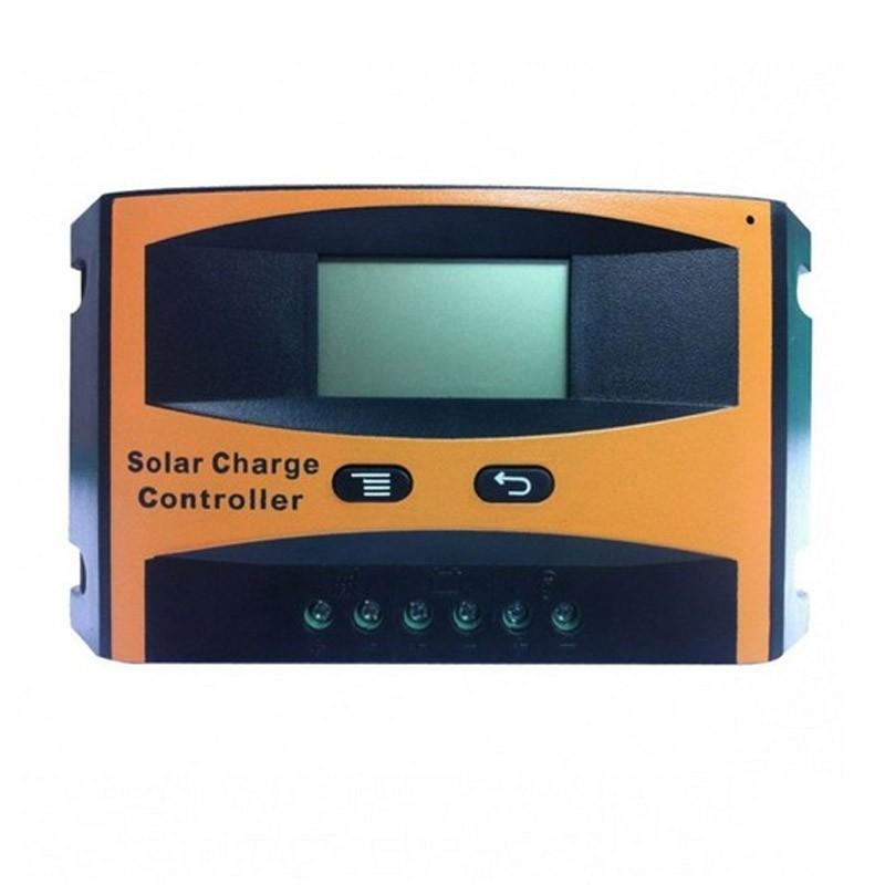 24.9 - Ρυθμιστής Φόρτισης με Οθόνη για Φωτοβολταϊκά Panel PWM 10 A OEM LD2410C