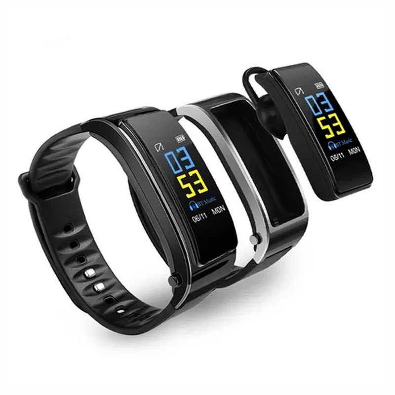 Smart Watch – Ακουστικό Bluetooth 2 σε 1 Υ3