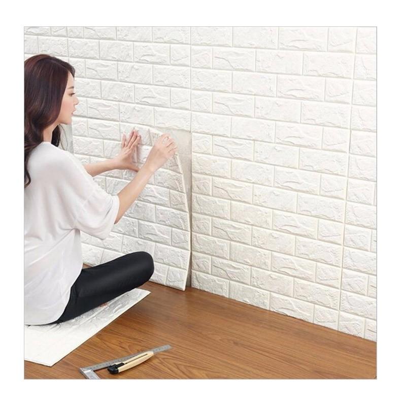 Τρισδιάστατα Αυτοκόλλητα Τοίχου Σετ 12 Τεμαχίων 77 x 70 cm 3D Foam Wall Sticker